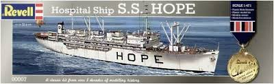 Revell 1/471 USS Hope Hospital Ship image