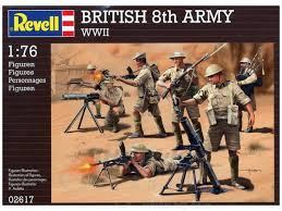 Revell 1/76 British 8th Army WWII image
