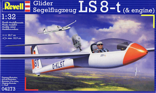 Revell 1/32 Glider LS 8-T (and Engine) image