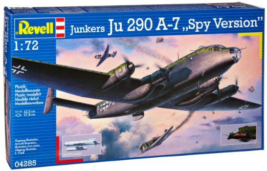 "Revell 1/72 Junkers Ju290 A-7 ""Attacker""  image"
