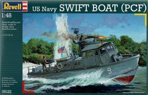 Revell 1/48 US Navy Swift Boat (PCF) image