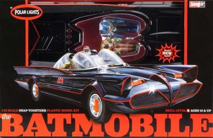 Polar Lights 1/25 '66 Batmobile Snap-Kit image