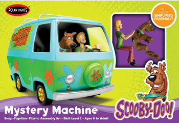 Polar Lights 1/25 Scooby-Doo Mystery Machine Snap-Kit image