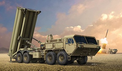 Trumpeter 1/35 Thaad Missile Deploy System image