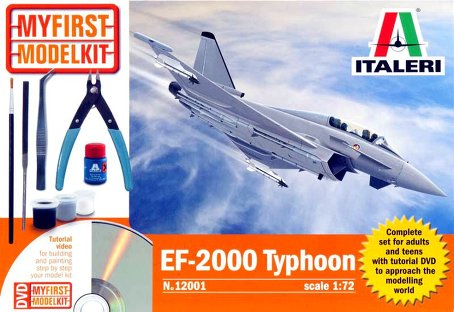 Italeri 1/72 Typhoon Model Set with DVD image