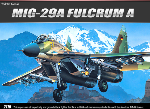 Academy 1/48 MIG-29A Fulcrum A image