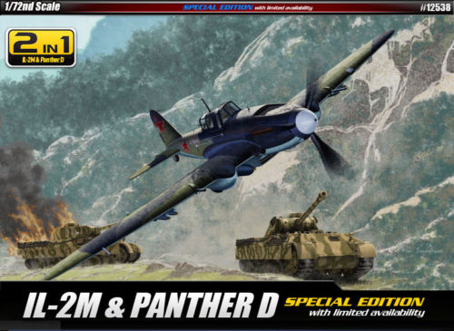 Academy 1/72 IL-2M With Panther D Tank image