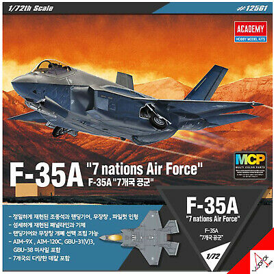 "Academy 1/72 F-35A ""Seven Nation Airforce"" image"