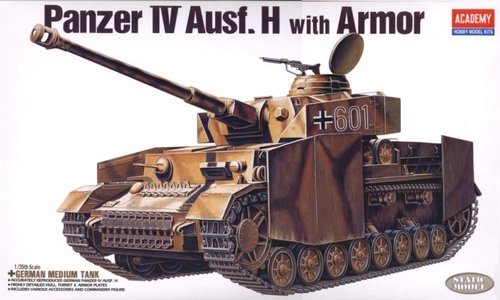 Academy 1/35 German Panzer IV H with Armour image