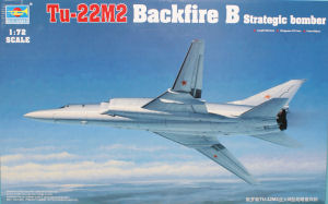 Trumpeter 1/72 Tu-22M2 Backfire Strategic Bomber image