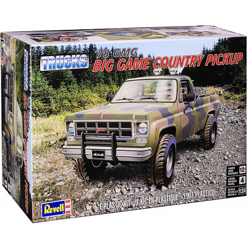 Revell 1/24 GMC Big Game Country Pickup image