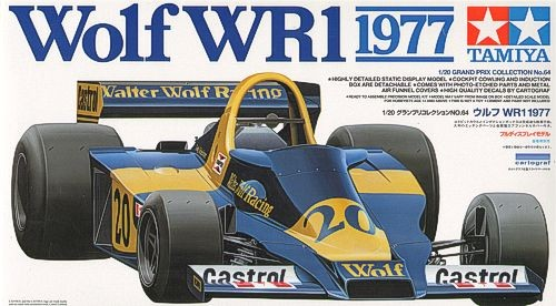 Tamiya 1/20 Wolf WR1 1977 with PE Parts image