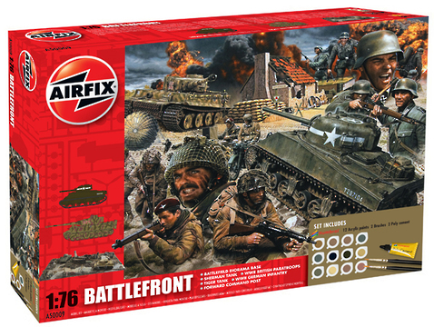 Airfix 1/76 Battle Front D-Day Diorama Set image