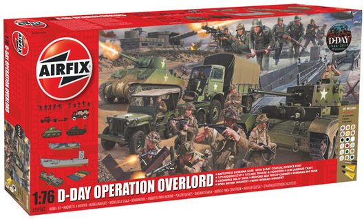 Airfix 1/76 Operation Overlord D-Day Diorama Set image
