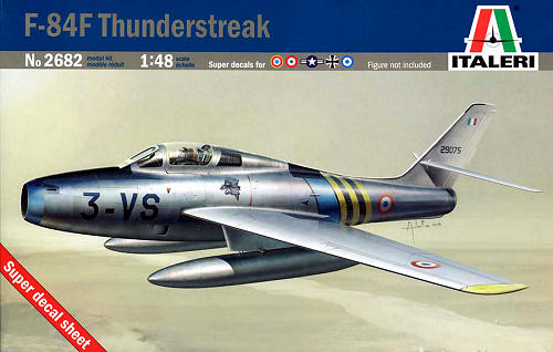 Italeri 1/48 F-84 F Thunderstreak image