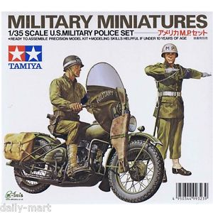 Tamiya 1/35 US Military Police Set image