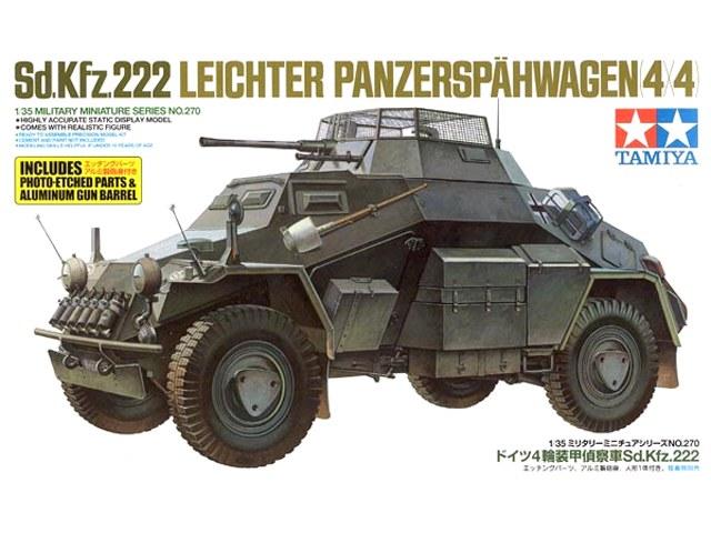 tamiya 1 35 sd kfz 222 w photo etched part plastic models. Black Bedroom Furniture Sets. Home Design Ideas