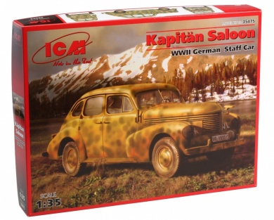ICM 1/35 Kapitan Saloon Staff Car image