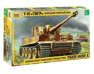 Zvezda 1/35 Tiger 1 Early Kursk image