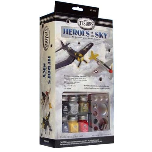 "Testors 1/72 Heroes of the Sky WWII Model Set ""Quick Build"" image"