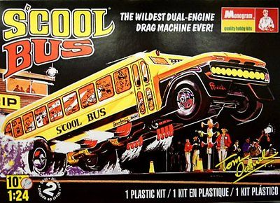 Revell 1/25 S'Cool Bus By Tom Daniel image