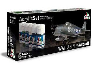 Italeri US Navy Aircraft Paint Set image