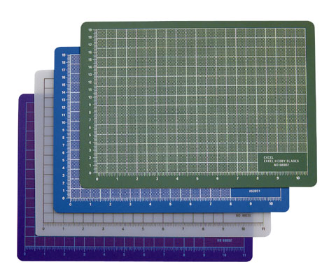 "Proedge 8.5x12"" Self-Healing Cutting Mat - Blue image"
