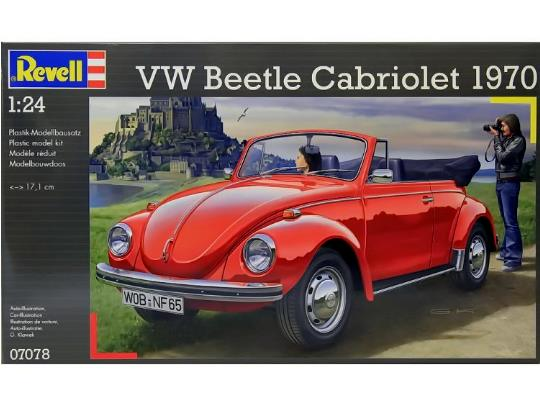 Revell 1/24 VW Cabriolet image