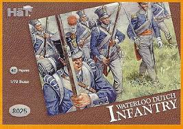 HaT 1/72 Waterloo Dutch Infantry (48 Pcs) image
