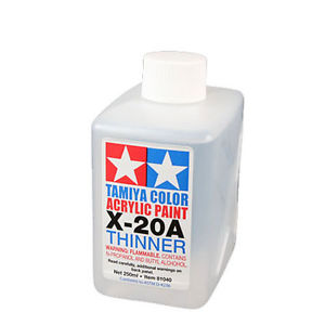 Tamiya Acrylic Thinner 250ml image