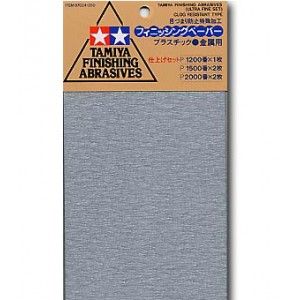 Tamiya Finishing Abrasives Set Super Fine image