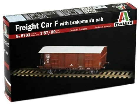 Italeri 1/87 Freight Car F with Brakeman's Cab (HO Scale) image