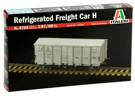 Italeri 1/87 Refrigerated Freight Car H (HO Scale) image