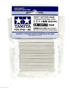 Tamiya Craft Cotton Swabs - Triangular/Extra Small/50 Pieces image