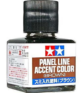 Tamiya Brown Panel Accent Paint image