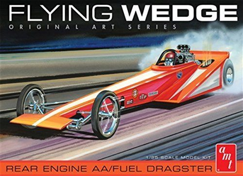AMT 1/25 Flying Wedge Dragster - Original Art Series image