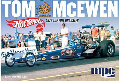 MPC 1/25 Tom 'Mongoose' McEwen 1972 Rear Engine Dragster - Hot Wheels image