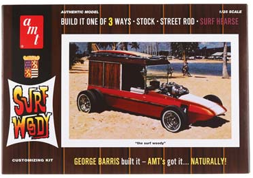 AMT 1/25 George Barris Surf Woody image