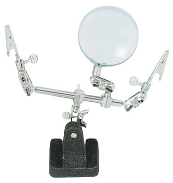 Excel Extra Hands 2 Clips & Magnifier image