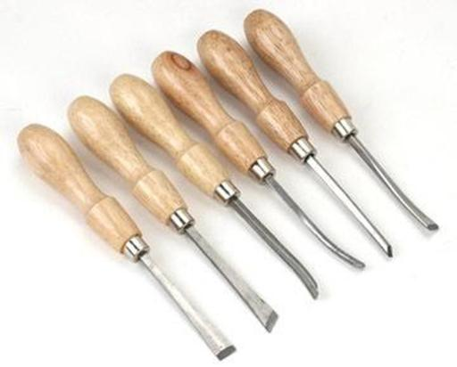 Excel Carving Tools 6 Assorted image