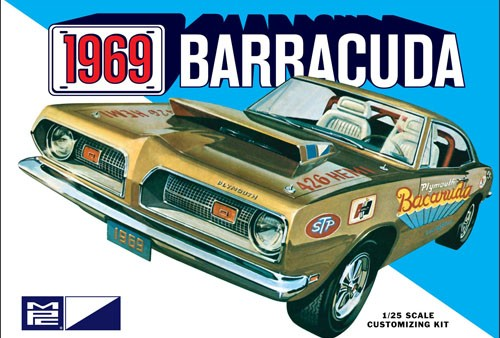 MPC 1/25 1969 Plymouth Barracuda image