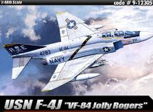 "Academy 1/48 USN F-4J ""VF-84 Jolly Rogers"" image"