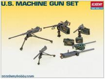Academy 1/35 US Machine Gun Set image