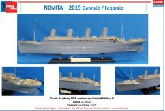 Academy 1/400 RMS Titanic Premium With LED image