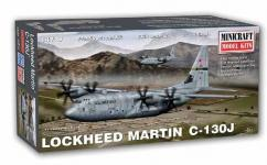 Minicraft 1/144 C-130J Hercules USAF with 2 Decal Options image