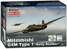 "Minicraft 1/144 Mitsubishi G4M Type 1 ""Betty"" Bomber image"