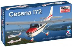 Minicraft 1/48 Cessna 172 with 2 Marking Options image