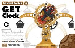 Academy Educational Da Vinci G.E.T. Clock image