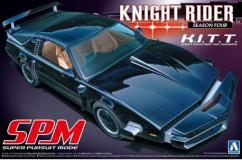 Aoshima 1/24 K.I.T.T - Knight Rider Season 4 - Super Pursuit Mode image