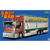 Aoshima 1/32 Japanese Truckers - Orange Mitsugoro image